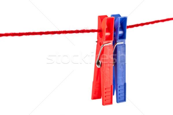 two clothespins Stock photo © marylooo