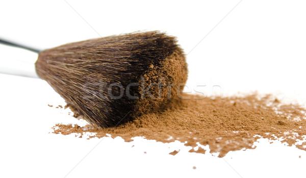 brush and powder Stock photo © marylooo