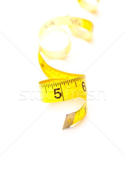 żółty odizolowany biały moda czarny Zdjęcia stock © marylooo