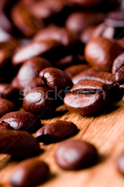 fried coffee beans Stock photo © marylooo