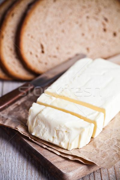 свежие рожь хлеб масло Сток-фото © marylooo