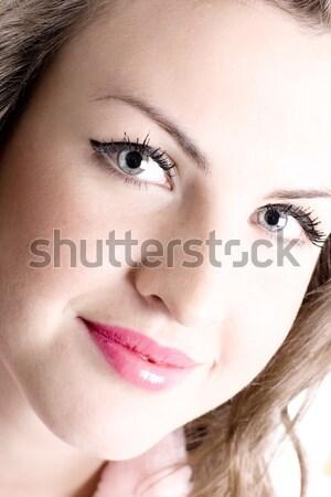 woman beautiful face Stock photo © marylooo