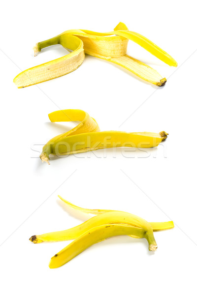 three banana peels Stock photo © marylooo