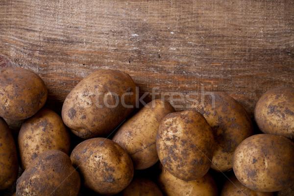 organic potatoes  Stock photo © marylooo