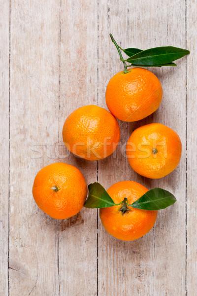 Cinco hojas alimentos hoja frutas Foto stock © marylooo