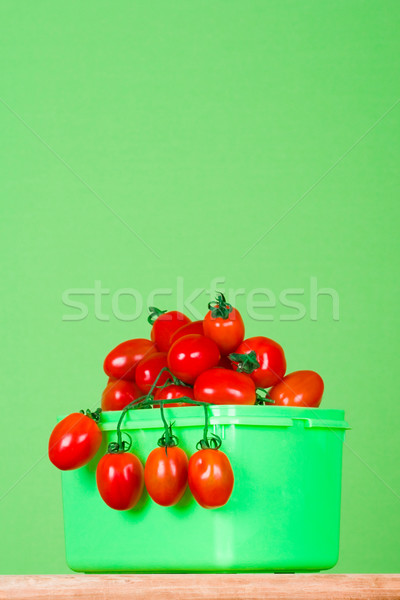 container with fresh tomatoes Stock photo © marylooo