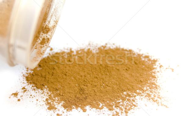 powder from jar Stock photo © marylooo