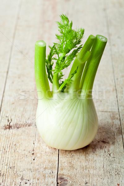 свежие органический фенхель продовольствие растительное Сток-фото © marylooo
