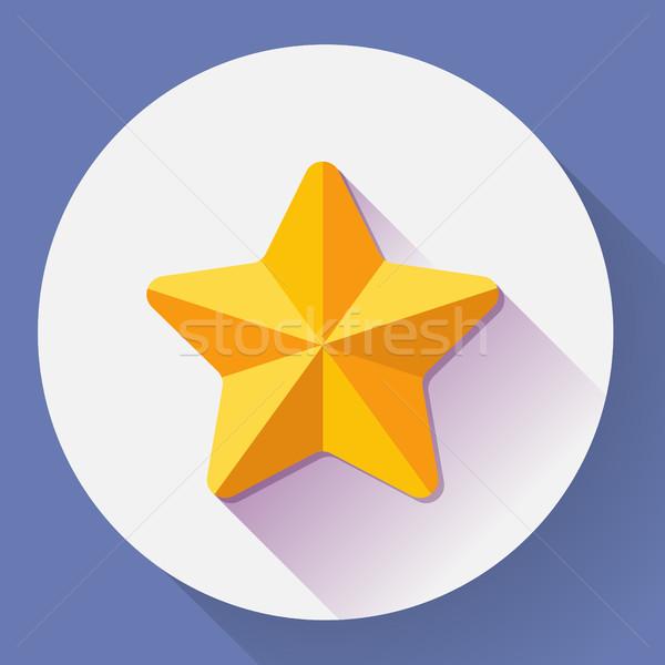 Gouden star stijl achtergrond kunst Stockfoto © MarySan