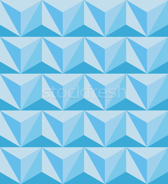 Geometrica abstract 3D wallpaper texture Foto d'archivio © MarySan