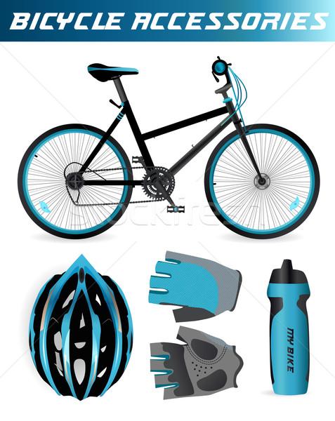 Bike or Bicycle accessories Stock photo © MarySan