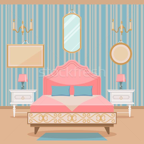 Schlafzimmer stock bilder vektoren und cliparts stockfresh for Innenraumdesign studium