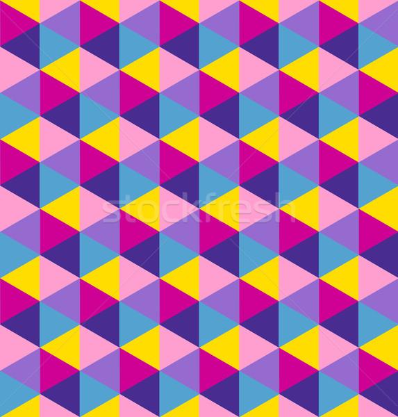 Foto stock: Abstrato · geométrico · cubo · negócio · apresentação