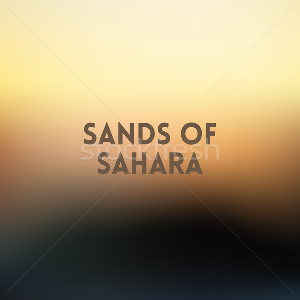 square blurred golden background - sunset colors With motivating quote Stock photo © MarySan