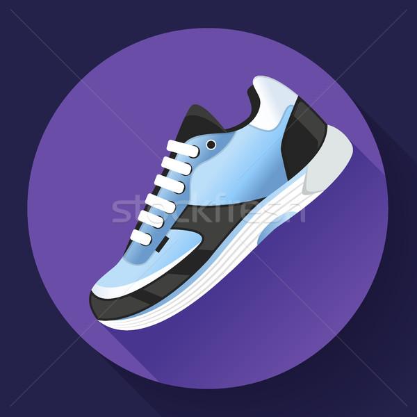 Stock fotó: Fitnessz · sportcipők · cipők · képzés · fut · cipő