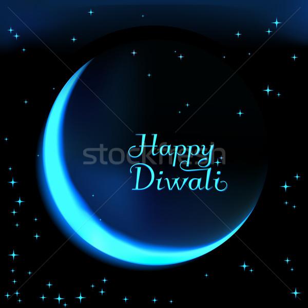 Felice diwali celebrazione comunità festival illustrazione Foto d'archivio © MarySan