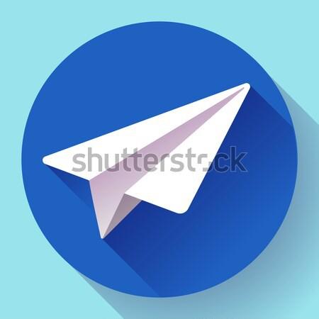 航空機 ベクトル ロゴ アイコン 20 デザイン ストックフォト © MarySan