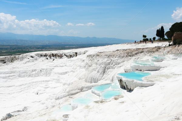 Mineral travertine Pamukkale Stock photo © MarySan