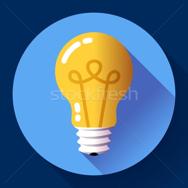 Criador idéia forma inspiração ícone Foto stock © MarySan