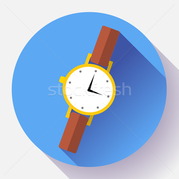 Wrist watches Smart Clock icon. Stock photo © MarySan