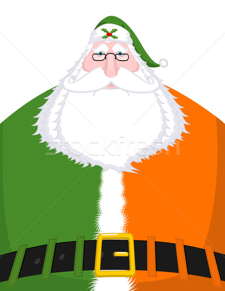 Kerstman Ierland Ierse taal christmas oude man Stockfoto © MaryValery