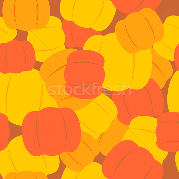 Military texture from pumpkins. Army background from Halloween s Stock photo © MaryValery