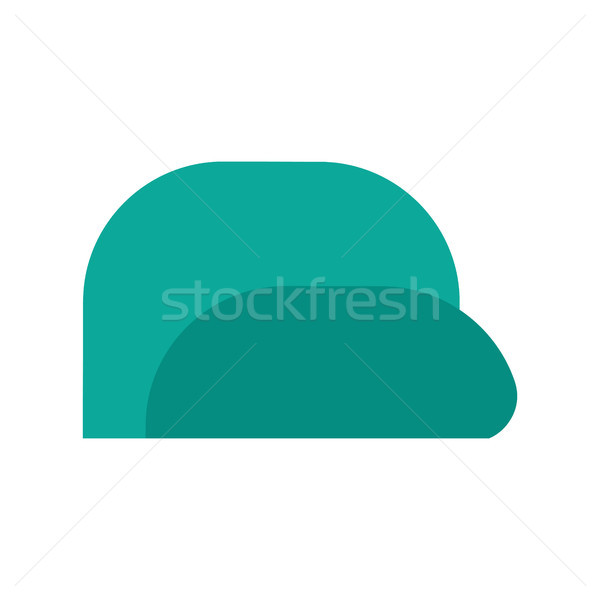 Baseball cap isolated. Summer peaked cap with visor Stock photo © MaryValery