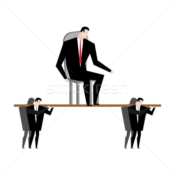 Ufficio boss corporate etica lavoratori Foto d'archivio © MaryValery