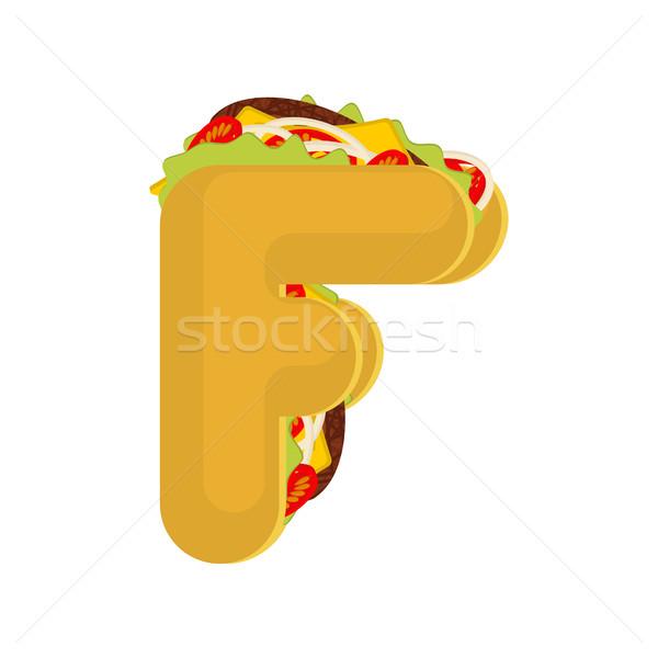 タコス メキシコ料理 ファストフード フォント タコス ストックフォト © MaryValery