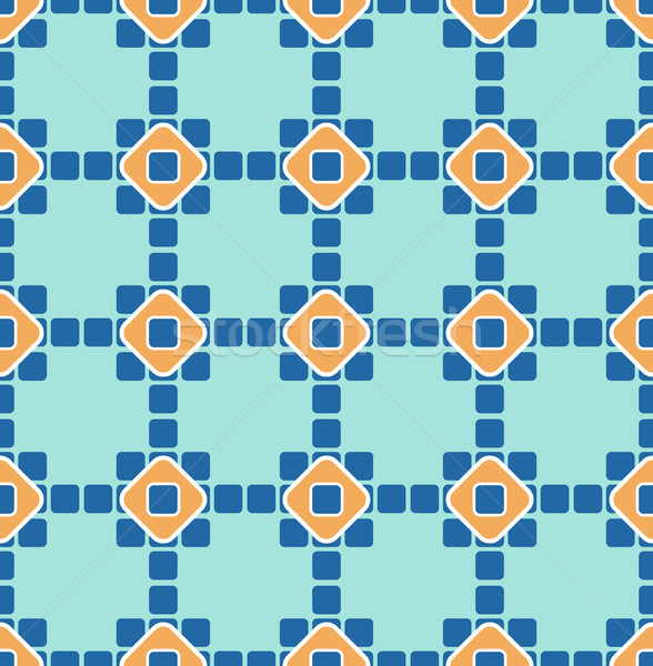 Geometric seamless pattern. Islamic vector ornament. East nation Stock photo © MaryValery