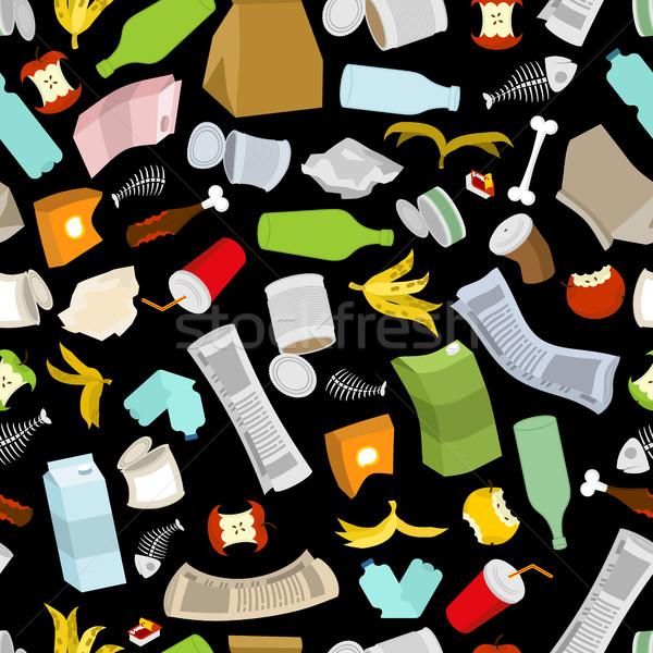 мусор мусора текстуры мусор орнамент Сток-фото © MaryValery