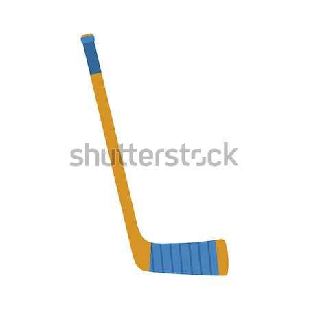 Hockey stick isolated. Accessory Ice Hockey on white background Stock photo © MaryValery