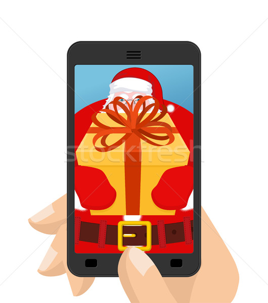 Foto stock: Navidad · foto · dar · regalo