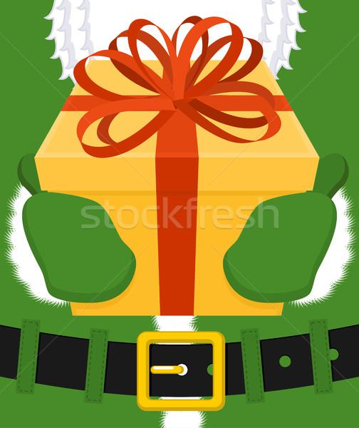 Irish Santa (Daddy of Christmas). Santa Claus Ireland 'Daidi na  Stock photo © MaryValery