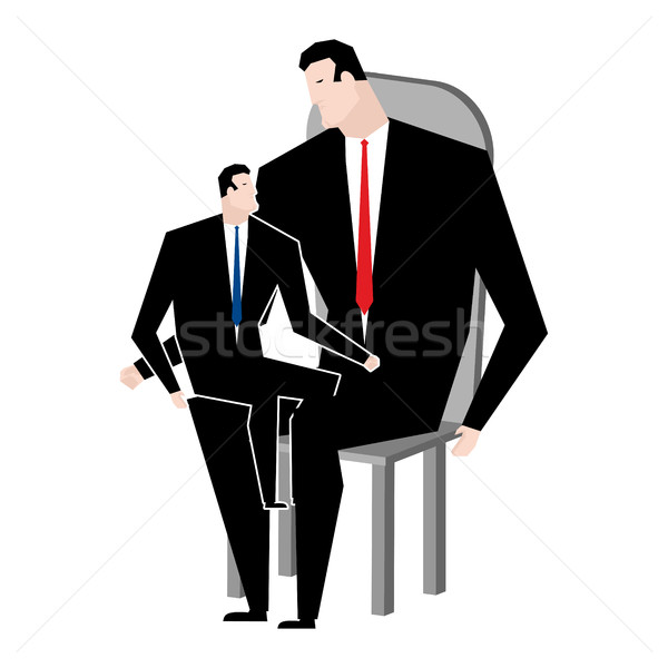 Businessmen and son. Business relatives. family office. Manager  Stock photo © MaryValery
