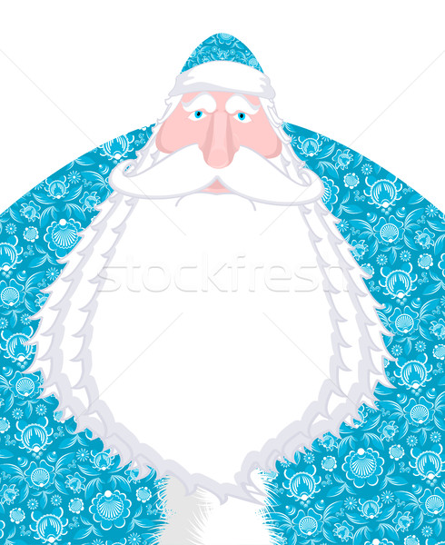 Russian Santa Claus Father Frost. Ded moroz- Santa of Russia. Ch Stock photo © MaryValery