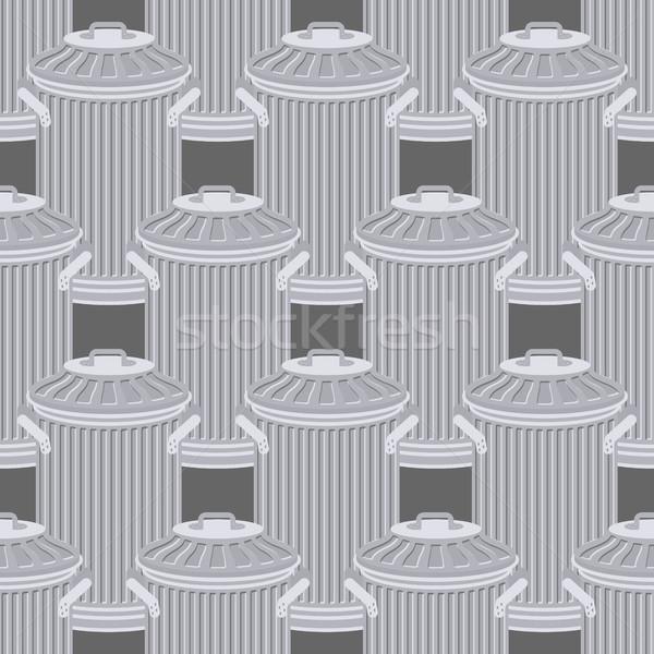 ごみ箱 鉄 飾り ストックフォト © MaryValery