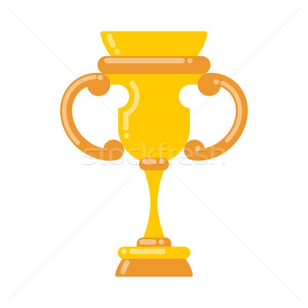 Vencedor copo ouro prêmio campeonato torneio Foto stock © MaryValery