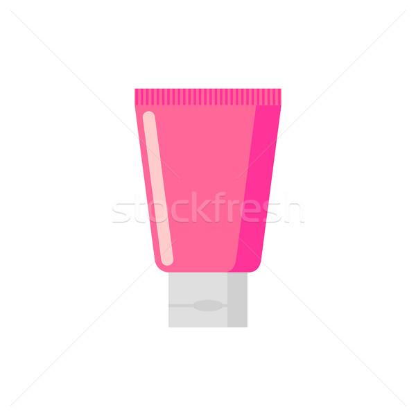Cream tube isolated. tuba Cosmetics on white background Stock photo © MaryValery