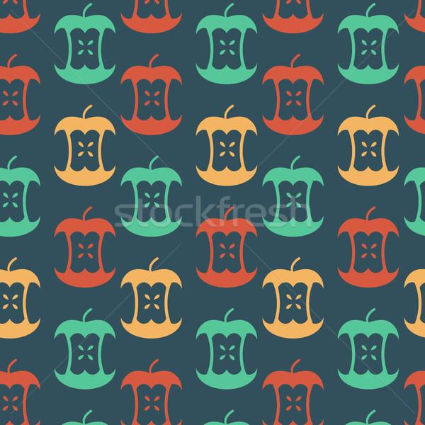 リンゴ コア フルーツ ゴミ 飾り ストックフォト © MaryValery