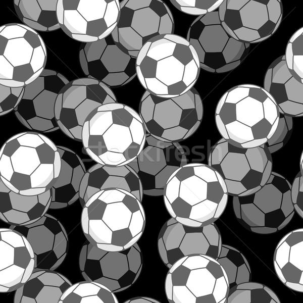 Fútbol pelota 3D deportes ornamento Foto stock © MaryValery