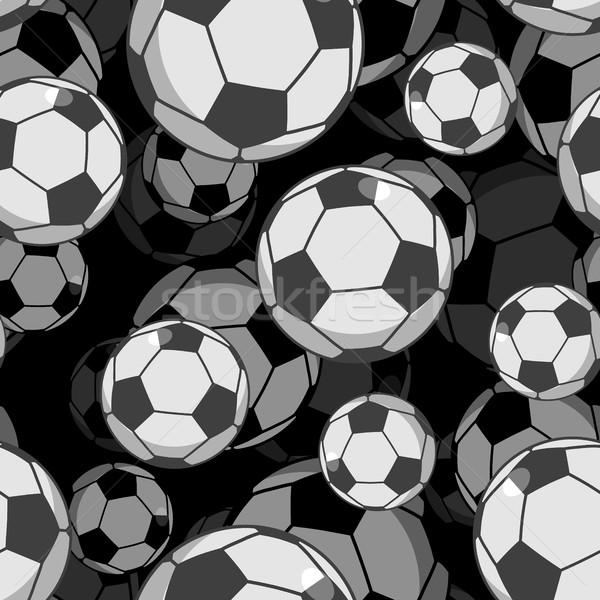 Calcio palla 3D sport ornamento Foto d'archivio © MaryValery