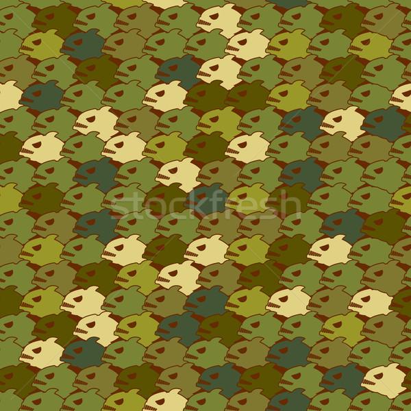 военных текстуры пиранья армии зла Сток-фото © MaryValery