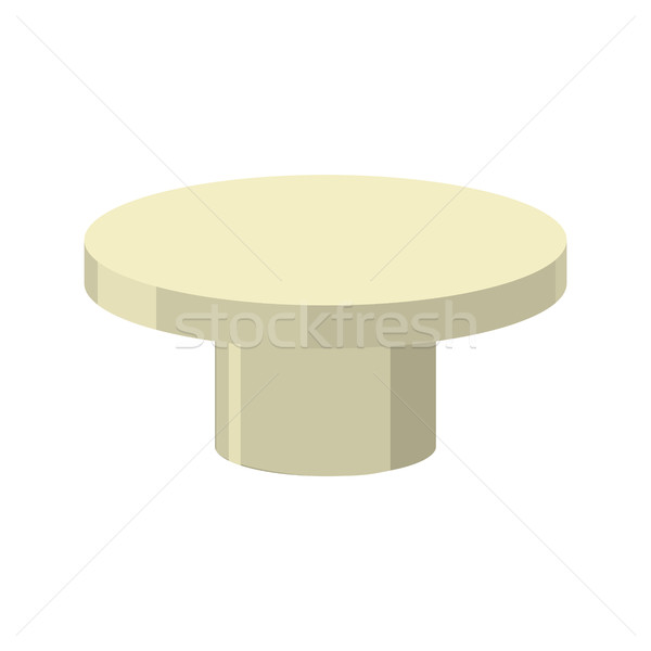 Bronze pedestal isolated. Stand for rewarding on white backgroun Stock photo © MaryValery