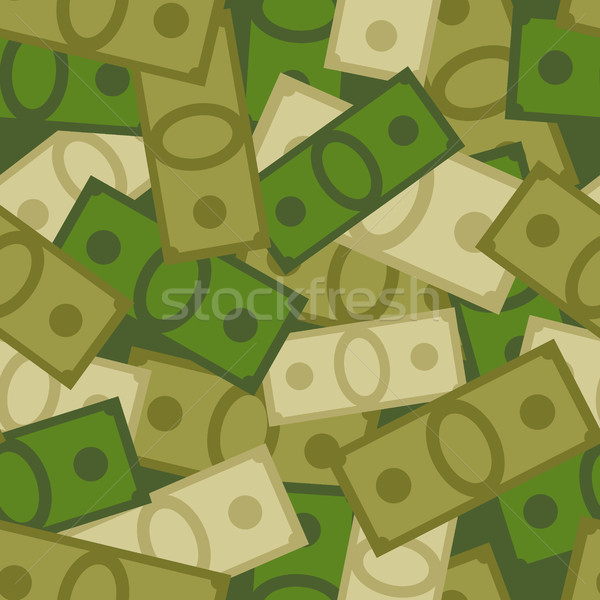 Militaire geld soldaten dollar vector Stockfoto © MaryValery
