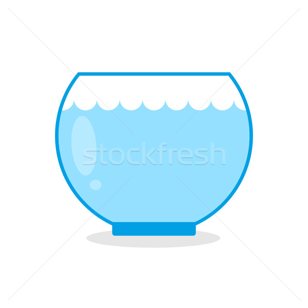 Vazio aquário peixe vidro aquático animais Foto stock © MaryValery