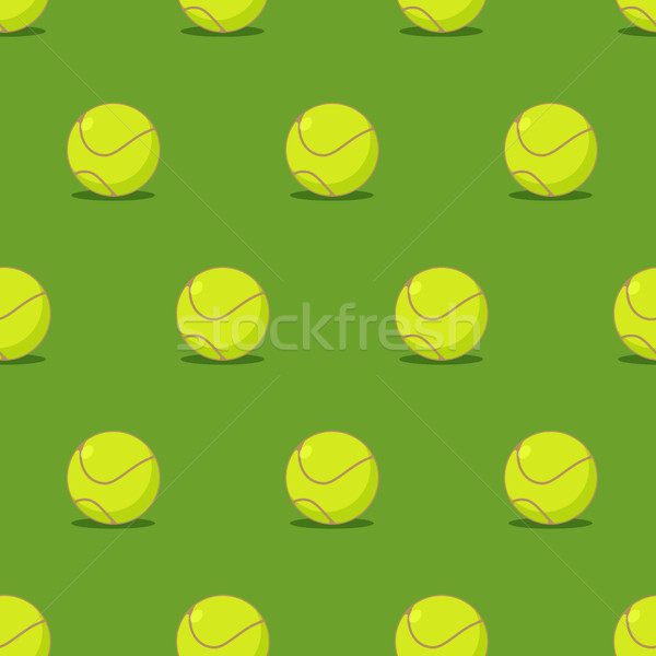 Tennisbal sport ornament tennis textuur Stockfoto © MaryValery