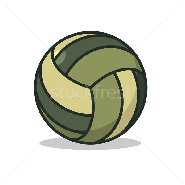 Katonaság sport labda hadsereg sportok játékok Stock fotó © MaryValery
