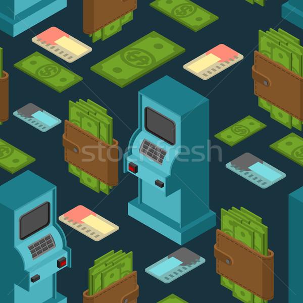 金融 パターン 気圧 現金 飾り お金 ストックフォト © MaryValery