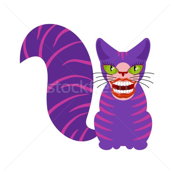 кошки животного страна чудес улыбка зубов рот Сток-фото © MaryValery